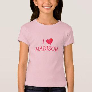 T-shirt J'aime MADISON
