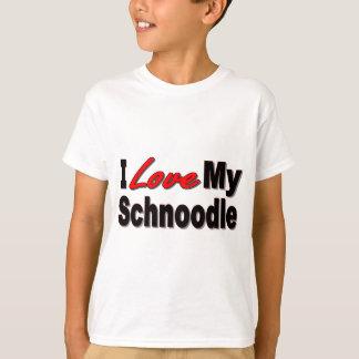 T-shirt J'aime mes cadeaux et habillement de chien de