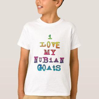T-shirt J'aime mes chèvres de Nubian
