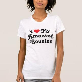 T-shirt J'aime mes cousins extraordinaires