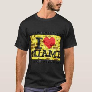 T-shirt J'aime Miami - Miami vintage