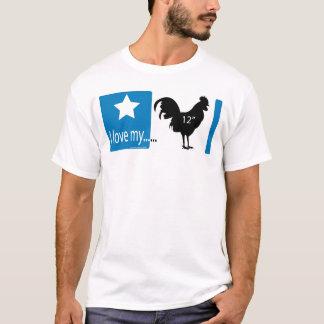 T-shirt J'aime mon 12 pouces…
