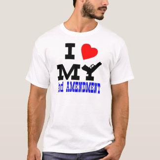 T-shirt J'aime mon 2ème amendement