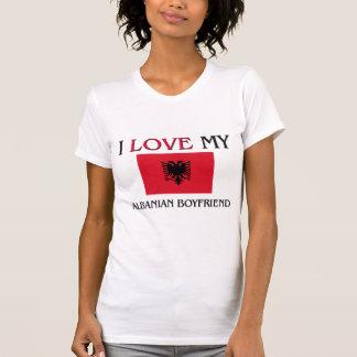 T-shirt J'aime mon ami albanais