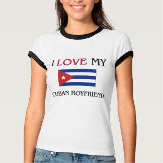 T-shirt J'aime mon ami cubain
