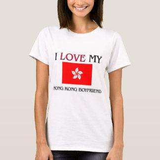 T-shirt J'aime mon ami de Hong Kong