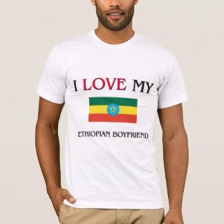 T-shirt J'aime mon ami éthiopien