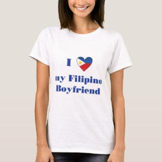 T-shirt J'aime mon ami philippin 1