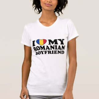 T-shirt J'aime mon ami roumain
