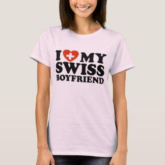 T-shirt J'aime mon ami suisse