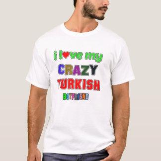 T-shirt J'aime mon ami turc fol