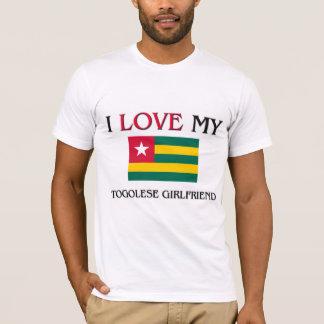 T-shirt J'aime mon amie togolaise