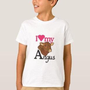 T-shirt J'aime mon Angus