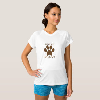 T-shirt J'aime mon animal familier
