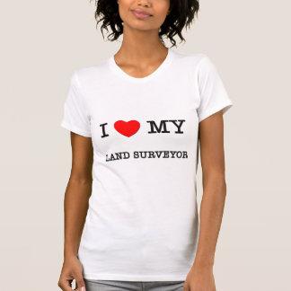 T-shirt J'aime mon ARPENTEUR de TERRE