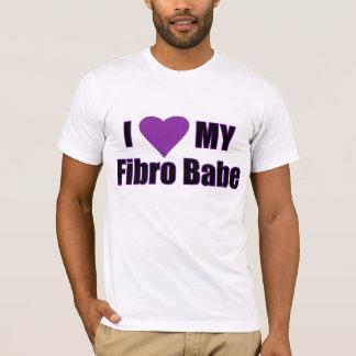 T-shirt J'aime mon bébé fibro