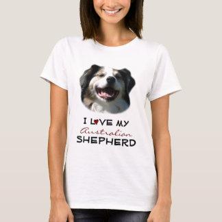 T-shirt J'aime mon berger australien