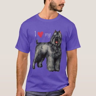 T-shirt J'aime mon Bouvier