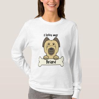 T-shirt J'aime mon Briard
