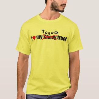 T-shirt J'aime mon camion de toyota
