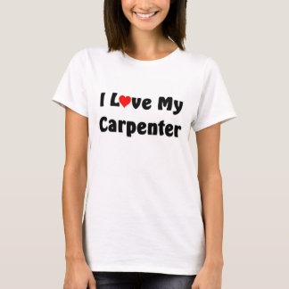 T-shirt J'aime mon charpentier