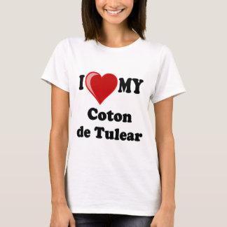 T-shirt J'aime mon coton De Tulear Dog