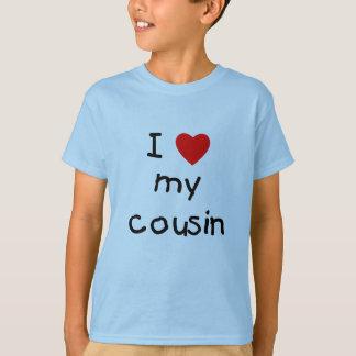 T-shirt J'aime mon cousin