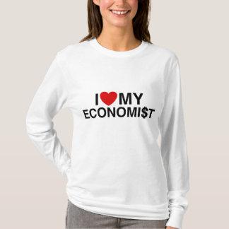 T-shirt J'aime mon économiste