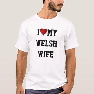 T-shirt J'aime mon épouse de Gallois