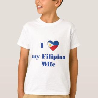 T-shirt J'aime mon épouse philippine 1