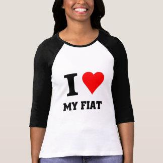 T-shirt J'aime mon Fiat