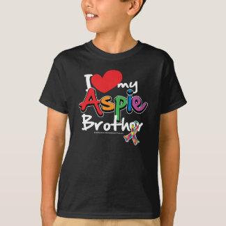T-shirt J'aime mon frère d'Aspie