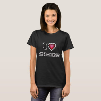 T-shirt J'aime mon garçon manqué