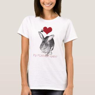 T-shirt J'aime mon géant flamand