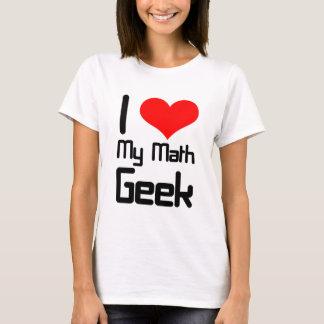 T-shirt J'aime mon geek de maths