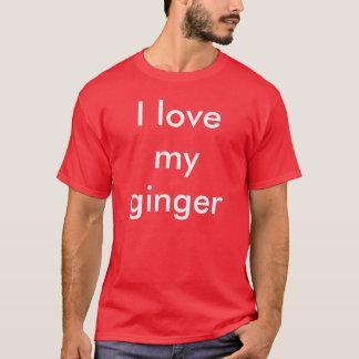 T-shirt J'aime mon gingembre
