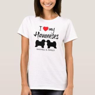 T-shirt J'aime mon Havaneses