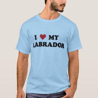 T-shirt J'aime mon Labrador