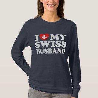 T-shirt J'aime mon mari suisse