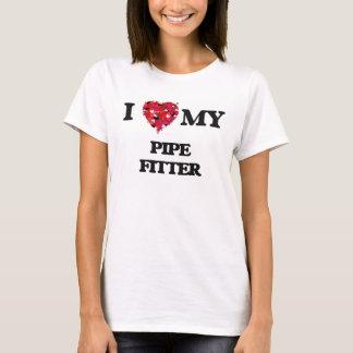 T-shirt J'aime mon monteur de tuyau