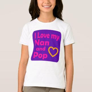 T-shirt J'aime mon Nan et saute (les filles)