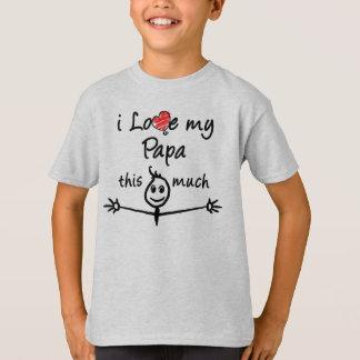T-shirt J'aime mon papa !