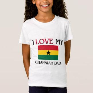 T-Shirt J'aime mon papa ghanéen