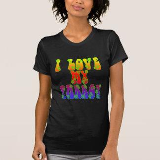 T-shirt J'aime mon perroquet