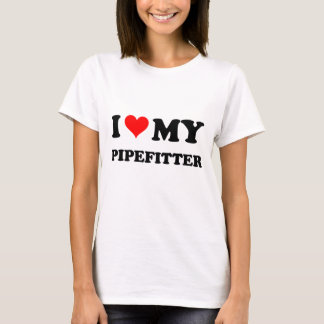 T-shirt J'aime mon Pipefitter