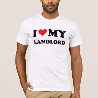 T-shirt J'aime mon propriétaire