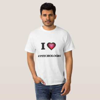 T-shirt J'aime mon psychologue