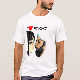 T-shirt J'aime mon Sikh