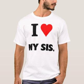 T-shirt J'aime mon SIS