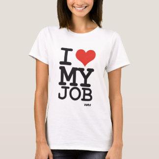 T-shirt j'aime mon travail